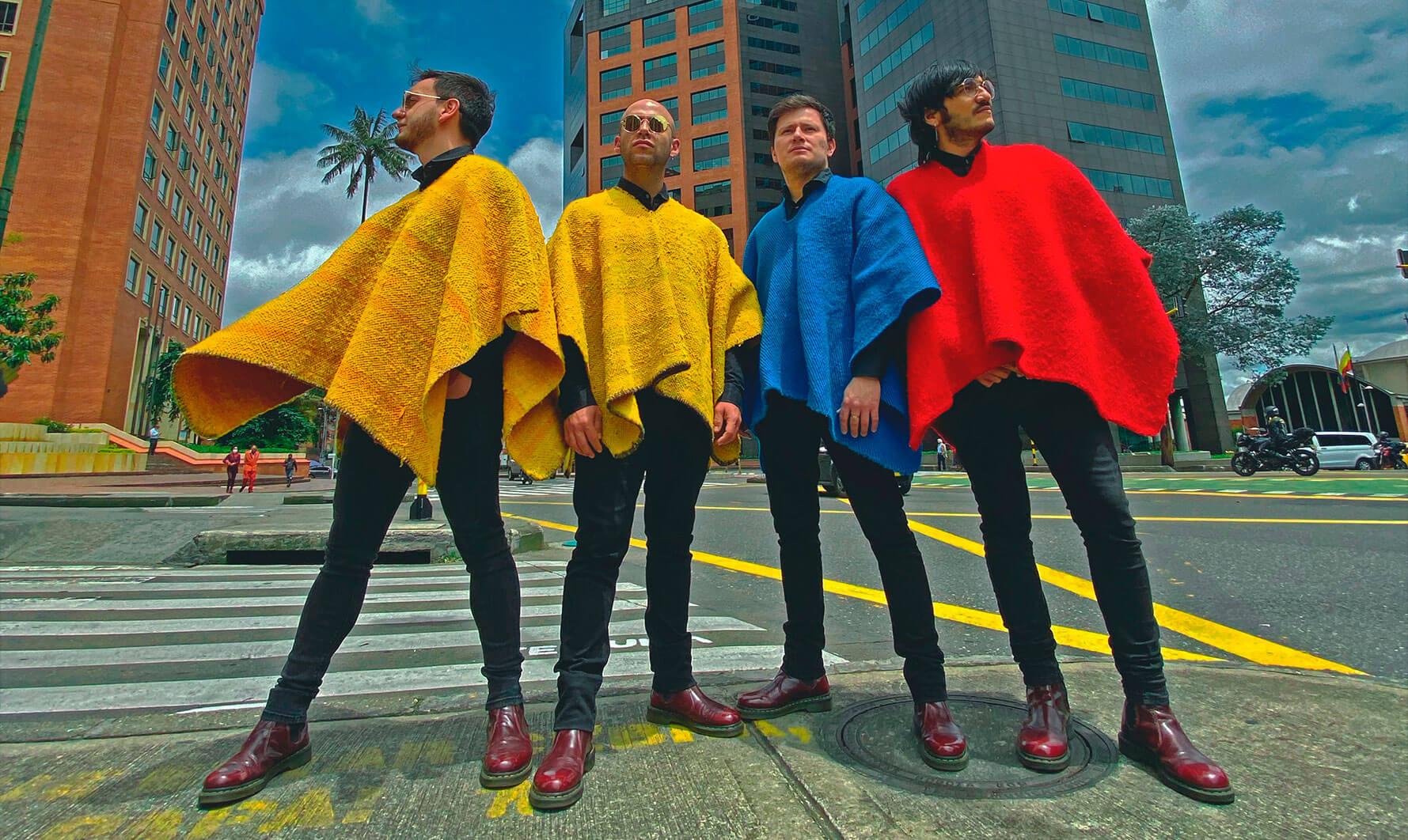 Los Rolling Ruanas - Lanzamiento de su nuevo disco: 'Nueva Tierra'