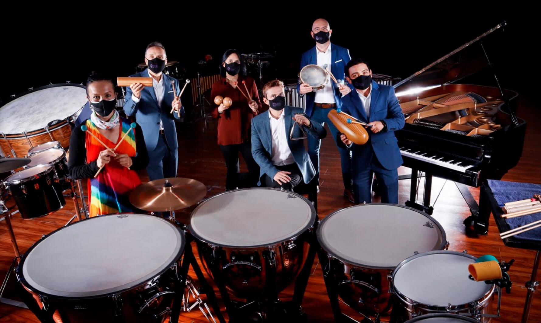 Ciclo de Cámara de la Orquesta Filarmónica de Bogotá - Grupo de Solistas de Percusión de Bogotá