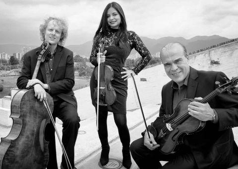 El Trío de Cuerdas Bogotá llega a YouTube desde el Teatro Mayor Julio Mario Santo Domingo