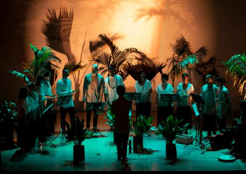 Para celebrar su aniversario 15, El grilo ensamble vocal le rinde homenaje a la música de los hijos de la diáspora africana en el Teatro Mayor Julio Mario Santo Domingo