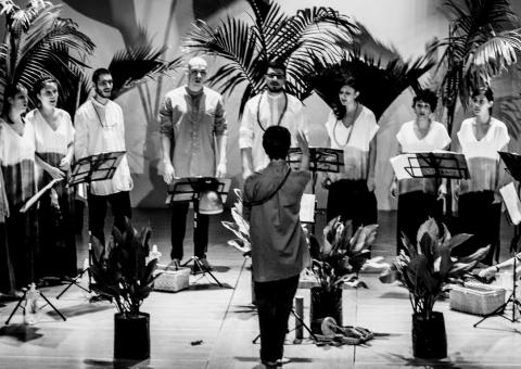 El Quinteto Femenino Filarmónico y El grilo ensamble vocal protagonizan los eventos presenciales de esta semana en el Teatro Mayor Julio Mario Santo Domingo