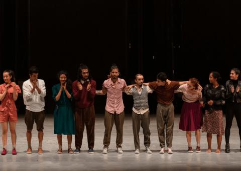 La Compañía de Danza del Teatro Mayor Julio Mario Santo Domingo baila ahora en el Teatro Jorge Eliécer Gaitán