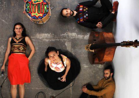 La música para dos voces, contrabajo y batería de Bituin llega al Teatro Mayor Julio Mario Santo Domingo
