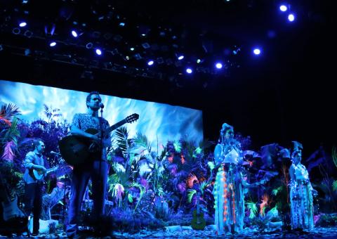 Cien Mil Niños al Mayor se une al Teatro Colón para transmitir 'Un Bosque EnCantado' de Colectivo Animal en la pantalla de Capital