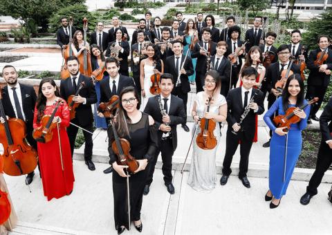 Con varios conciertos gratuitos, la Orquesta Filarmónica de Bogotá ofrece su solidaridad a las víctimas del conflicto