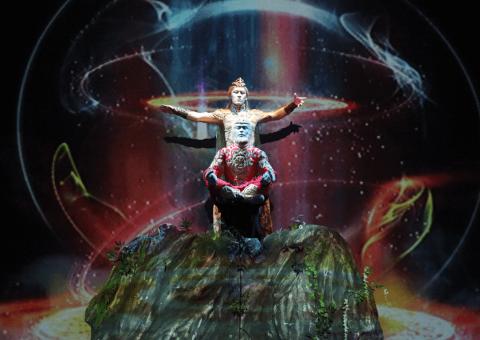 Teatro Digital presenta las acrobacias mágicas en 3D de 'El bastón de oro', obra de la Compañía Acrobática Nanjing
