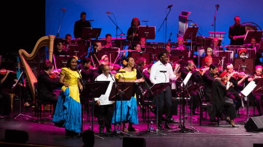 Orquesta Sinfónica Nacional de Colombia - 'Pacífico sinfónico'